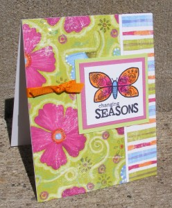 Changing Seasons Greeting Card